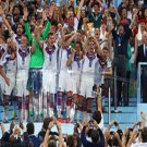 38 - 8 x 6 Photo - Football - FIFA World Cup 2014 WINNERS - GERMANY