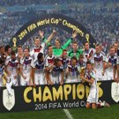 39 - 8 x 6 Photo - Football - FIFA World Cup 2014 WINNERS - GERMANY