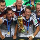 40 - 8 x 6 Photo - Football - FIFA World Cup 2014 WINNERS - GERMANY