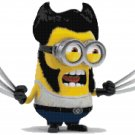 DESPICABLE ME MINIONS WOLVERINE CROSS STITCH PATTERN