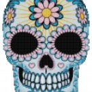 SUGAR SKULL #1 CROSS STITCH PATTERN