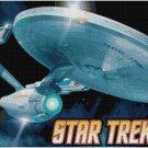 STAR TREK ENTERPRISE CROSS STITCH PATTERN