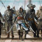 ASSASSIN'S CREED BLACK FLAG #2  CROSS STITCH PATTERN