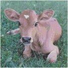 BABY JERSEY COW CROSS STITCH PATTERN PDF ONLY