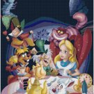 DISNEY ALICE IN WONDERLAND #6 CROSS STITCH PATTERN PDF ONLY