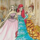 DISNEY PRINCESS DESIGNER GOWN #2 CROSS STITCH PATTERN PDF ONLY
