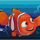 DISNEY FINDING NEMO NEMO CROSS STITCH PATTERN PDF ONLY