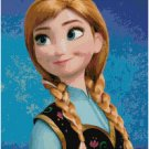 DISNEY FROZEN ANNA #1 CROSS STITCH PATTERN PDF ONLY