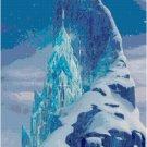 DISNEY FROZEN ICE CASTLE CROSS STITCH PATTERN PDF ONLY