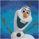 DISNEY FROZEN OLAF #2 CROSS STITCH PATTERN PDF ONLY