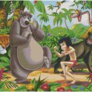 DISNEY THE JUNGLE BOOK #3  CROSS STITCH PATTERN PDF ONLY