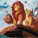 DISNEY LION KING GROUP #2  CROSS STITCH PATTERN PDF ONLY