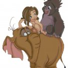 DISNEY TARZAN AND FRIENDS CROSS STITCH PATTERN PDF ONLY