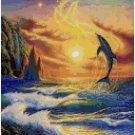 DOLPHIN FANTASY CROSS STITCH PATTERN PDF ONLY