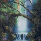 DOLPHIN WATERFALL CROSS STITCH PATTERN PDF ONLY