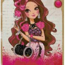 EVER AFTER HIGH BRIAR BEAUTY  CROSS STITCH PATTERN PDF ONLY