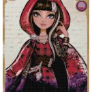 EVER AFTER HIGH CERISE HOOD  CROSS STITCH PATTERN PDF ONLY