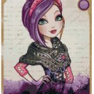 EVER AFTER HIGH POPPY O HAIR  CROSS STITCH PATTERN PDF ONLY