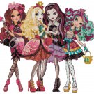 EVER AFTER HIGH #1 CROSS STITCH PATTERN PDF ONLY