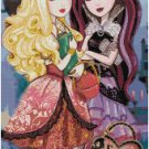 EVER AFTER HIGH #2 CROSS STITCH PATTERN PDF ONLY