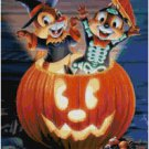 DISNEY CHIP N DALE HALLOWEEN CROSS STITCH PATTERN PDF ONLY
