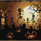 HALLOWEEN SKELETONS CROSS STITCH PATTERN PDF ONLY