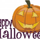 HAPPY HALLOWEEN CROSS STITCH PATTERN PDF ONLY