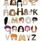 HARRY POTTER ALPHABET #1  CROSS STITCH PATTERN PDF ONLY