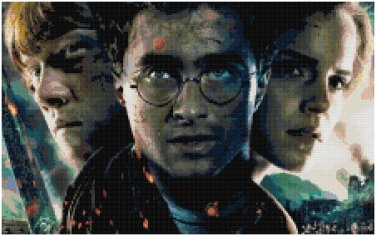 HARRY POTTER #1 CROSS STITCH PATTERN PDF ONLY