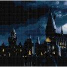 HARRY POTTER HOGWARTS AT NIGHT CROSS STITCH PATTERN PDF ONLY