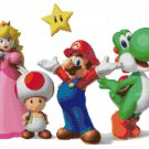 SUPER MARIO BROS MARIO GROUP CROSS STITCH PATTERN PDF ONLY