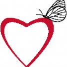 SIMPLE HEART CROSS STITCH PATTERN PDF ONLY
