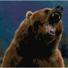 BROWN BEAR CROSS STITCH PATTERN PDF ONLY