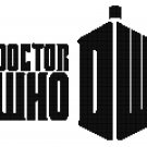 DR WHO #1 CROSS STITCH PATTERN PDF ONLY