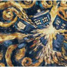 DR WHO EXPLODING TARDIS #1 CROSS STITCH PATTERN PDF ONLY