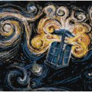 DR WHO EXPLODING TARDIS #2 CROSS STITCH PATTERN PDF ONLY