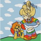 RAINBOW BRITE #2 CROSS STITCH PATTERN PDF ONLY
