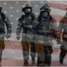 AMERICAN FIREFIGHTERS CROSS STITCH PATTERN PDF ONLY