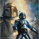 STAR WARS BOBA FETT AND JANGO FETT #2 CROSS STITCH PATTERN PDF ONLY