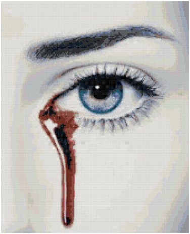 TRUE BLOOD #2 CROSS STITCH PATTERN PDF ONLY