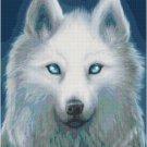 WHITE WOLF CROSS STITCH PATTERN PDF ONLY
