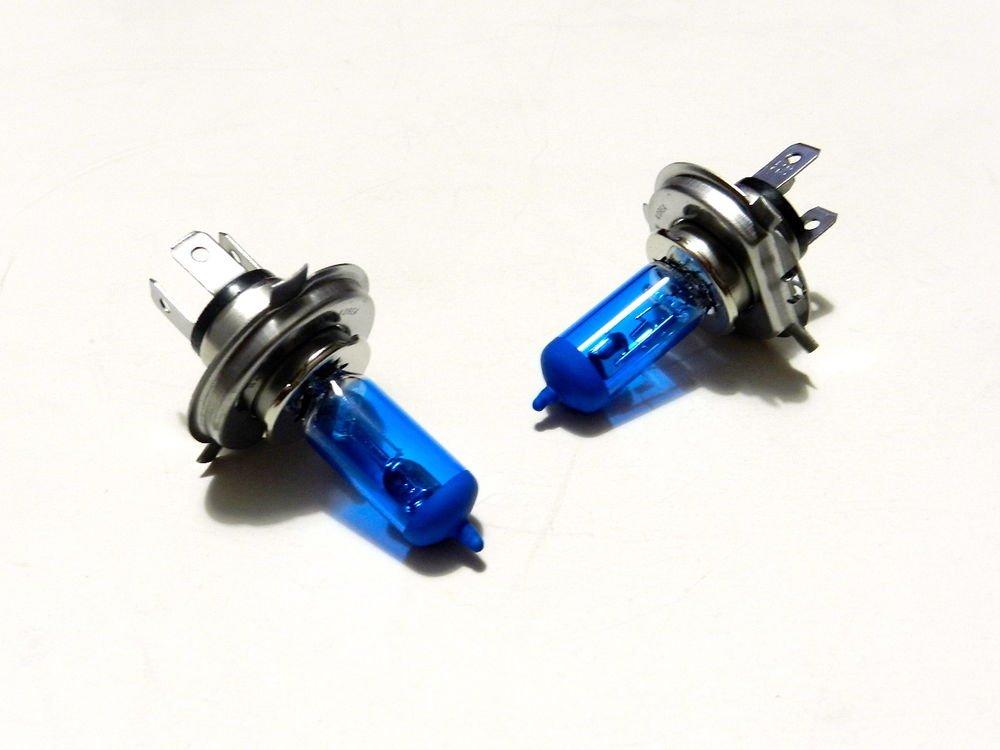 BLUE - X2 H4 HIGH PERFORMANCE XENON HEADLIGHT BULBS