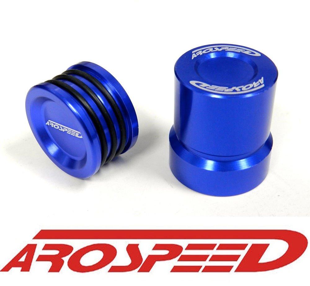 AROSPEED BLUE OBD0 JDM VTEC SOLENOID COVER & CAM SEAL COMBO B16 B16A