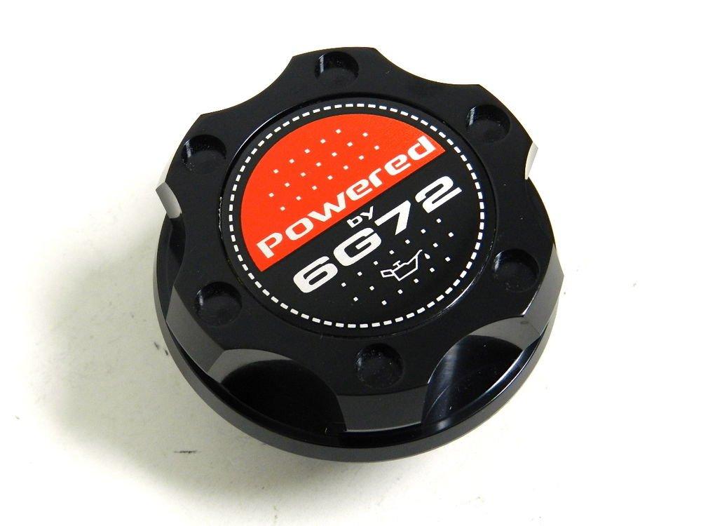 BLACK BILLET CNC RACING ENGINE OIL FILLER CAP MITSUBISHI 3000GT GTO 6G72