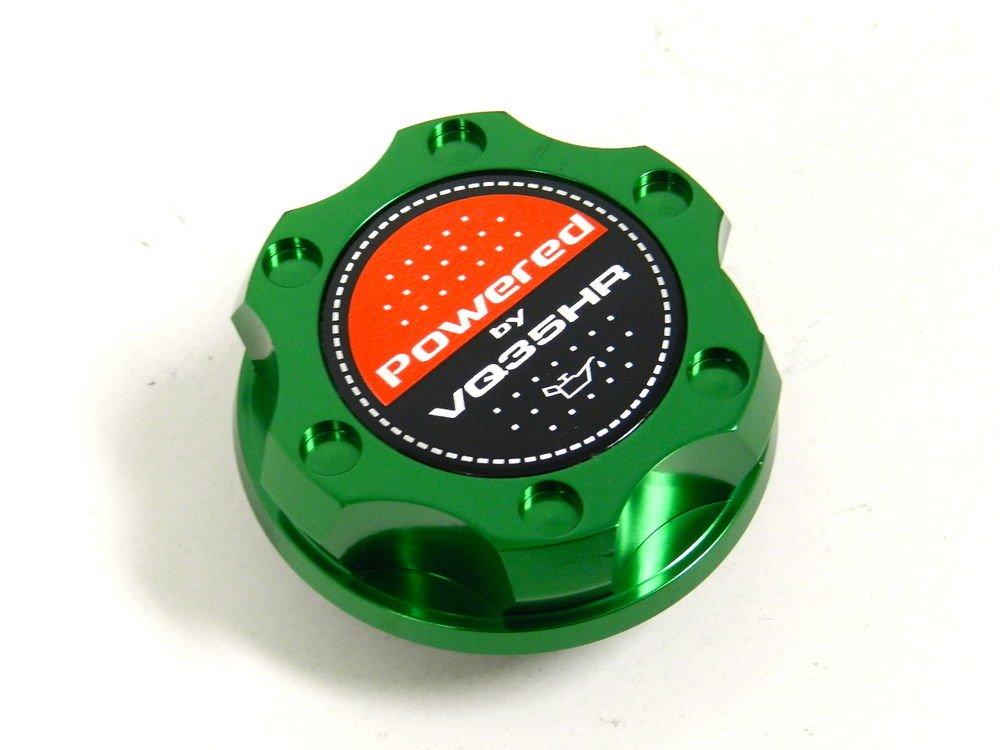 GREEN BILLET RACING ENGINE OIL FILLER CAP NISSAN 350Z G35 VQ35HR
