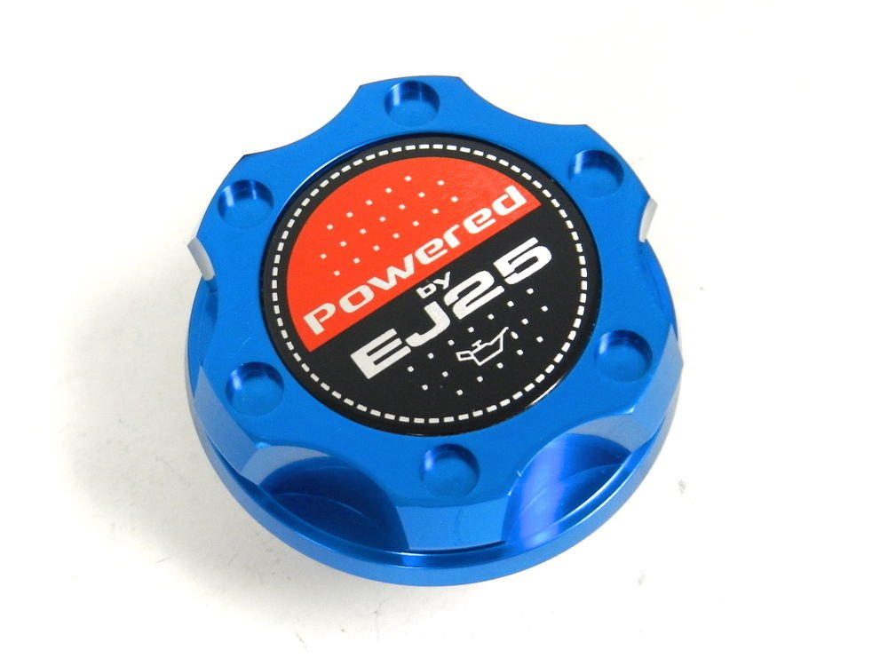 BLUE BILLET CNC RACING ENGINE OIL FILLER CAP SUBARU IMPREZA LEGACY EJ25