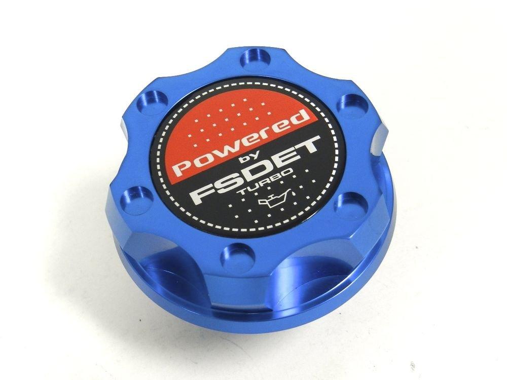 BLUE BILLET RACING ENGINE OIL FILLER CAP MAZDA PROTEGE TURBO FSDET