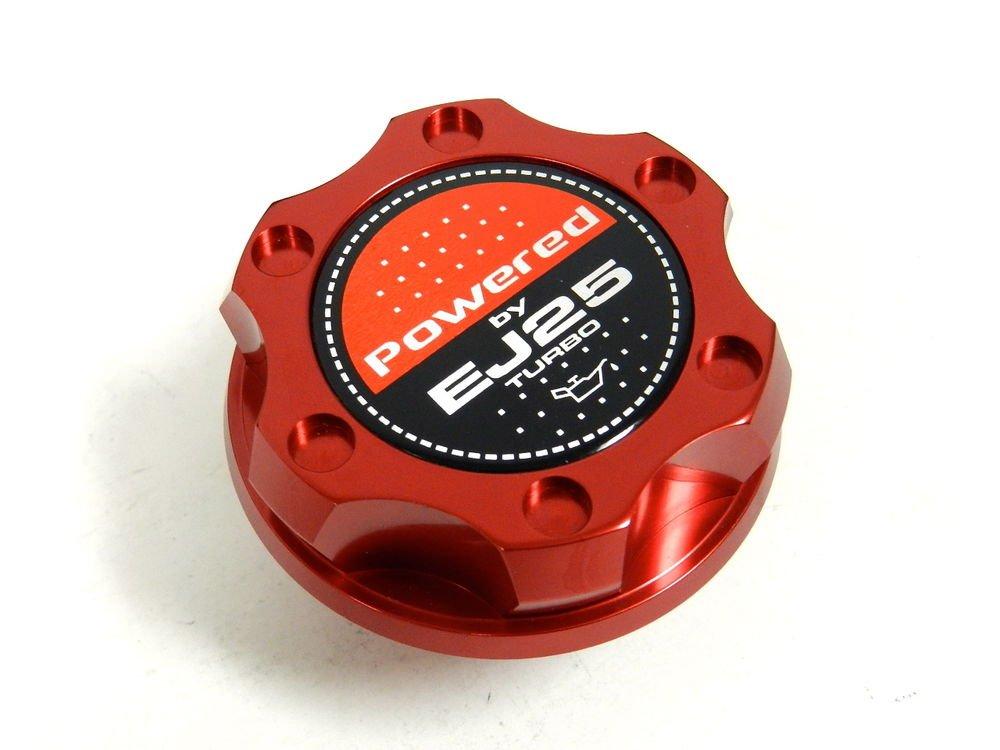 RED BILLET RACING ENGINE OIL FILLER CAP SUBARU IMPREZA LEGACY EJ25 TURBO