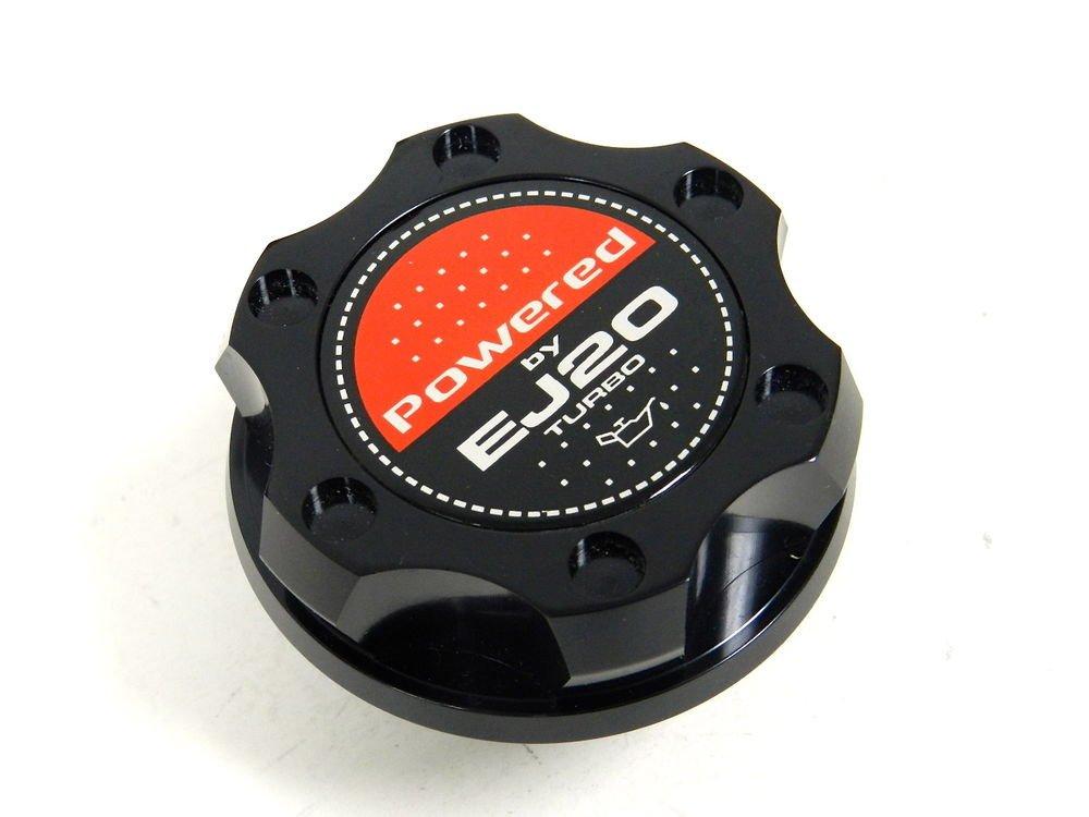 BLACK BILLET RACING ENGINE OIL FILLER CAP SUBARU IMPREZA LEGACY EJ20 TURBO