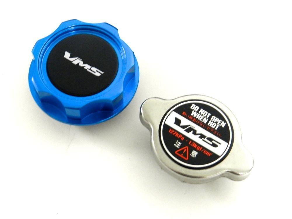 VMS RACING BLUE OIL CAP + RACING RADIATOR CAP NISSAN INFINITI B